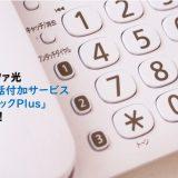 1,410円/月もお得!コミュファの「光電話付加サービス割引パックPlus」